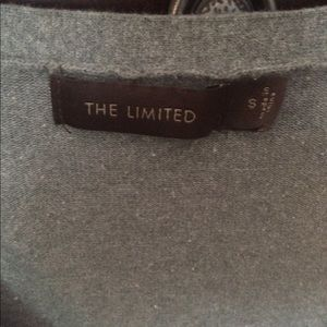 The Limited gray cardigan.